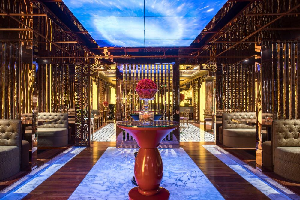 Italian Lounge, The Reverie Saigon, Vietnam Reise