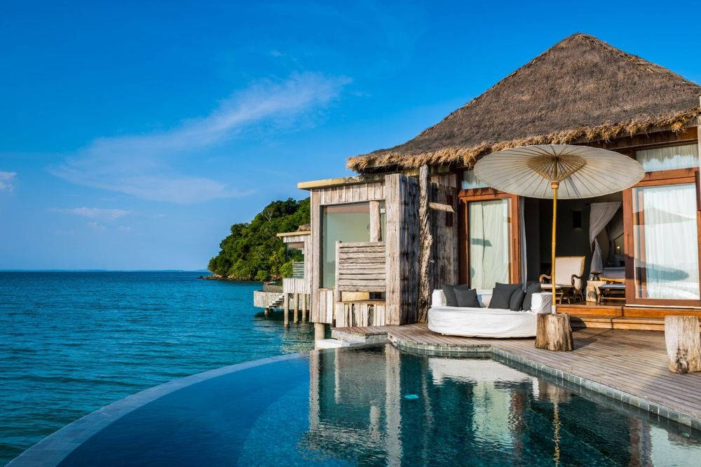Waterbungalow, Song Saa Private Island, Sihanoukville, Kambodscha Reise