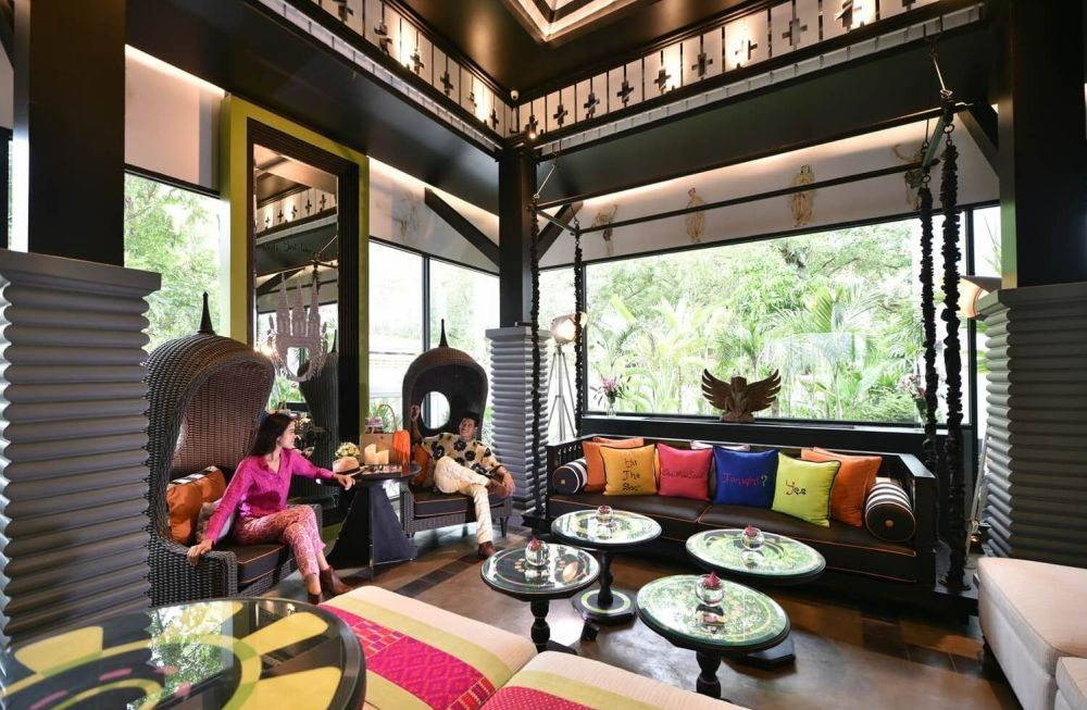 Lounge, Shinta Mani Shack, Sieam Reap, Kambodscha Reise
